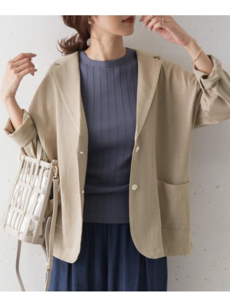 [Rakuten Fashion]リネンカットテーラージャケット DOORS アーバンリサーチドアーズ コート/ジャケット テーラードジャケット ベージュ ブラウン【送料無料】