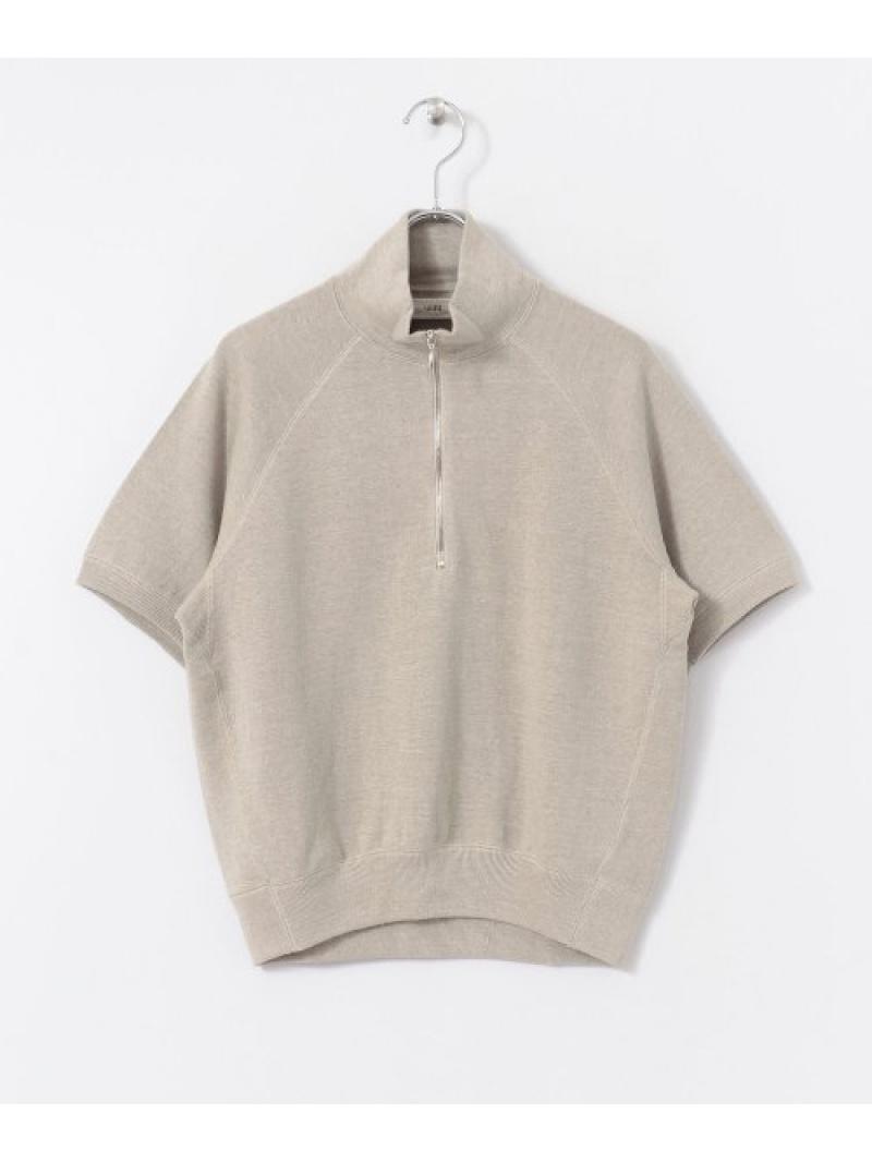 [Rakuten Fashion]unfilsoftlinen-terryh/ziptop DOORS アーバンリサーチドアーズ カットソー Tシャツ ホワイト【送料無料】