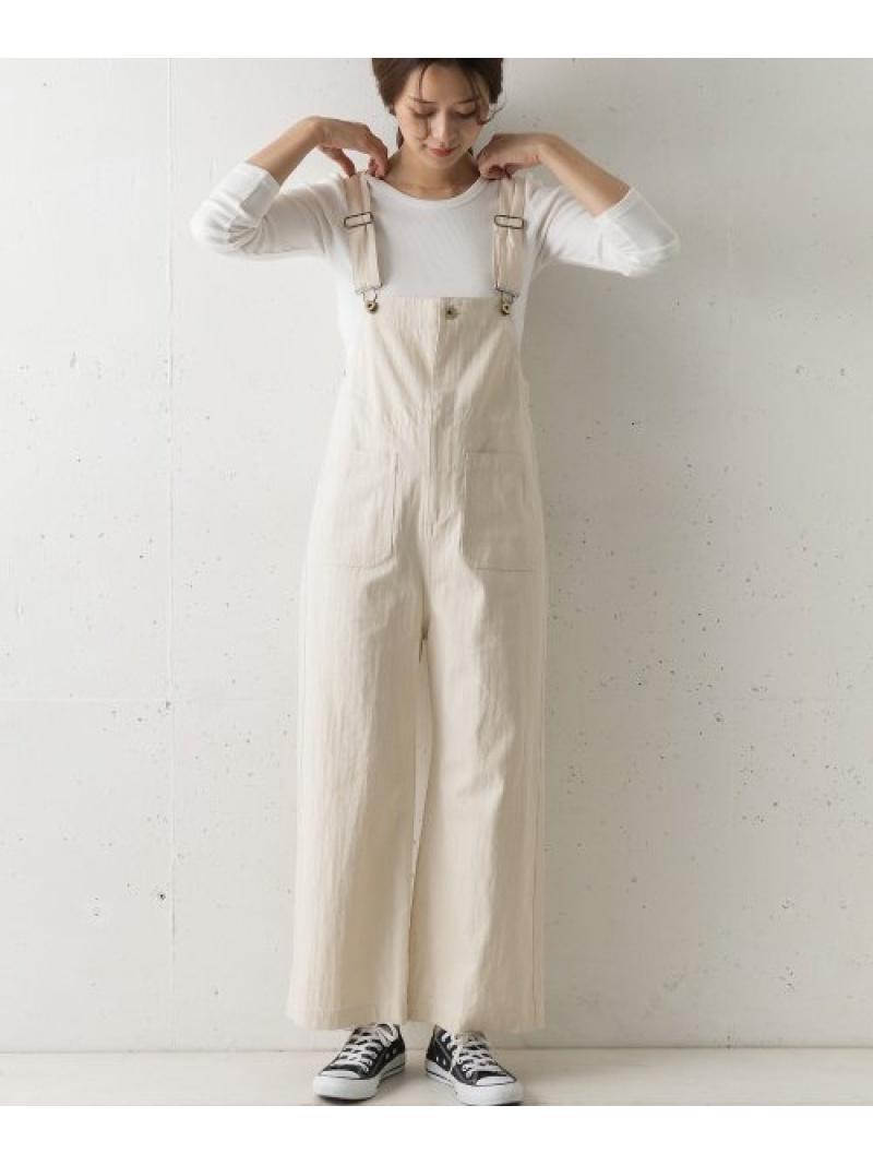 [Rakuten Fashion]【別注】UNIVERSALOVERALL×DOORSオーバーオール DOORS アーバンリサーチドアーズ パンツ/ジーンズ サロペット/オールインワン ホワイト【送料無料】