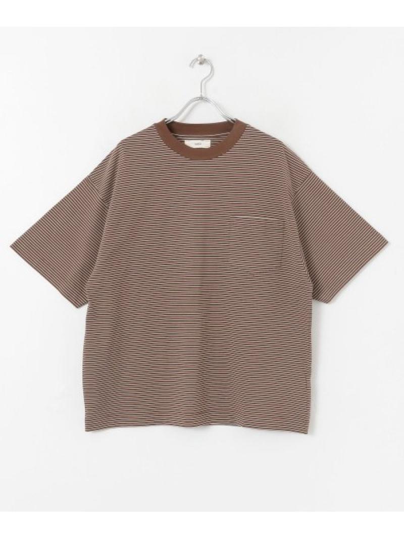 [Rakuten Fashion]unfilstripeorganiccottonT-shirts DOORS アーバンリサーチドアーズ カットソー Tシャツ【送料無料】