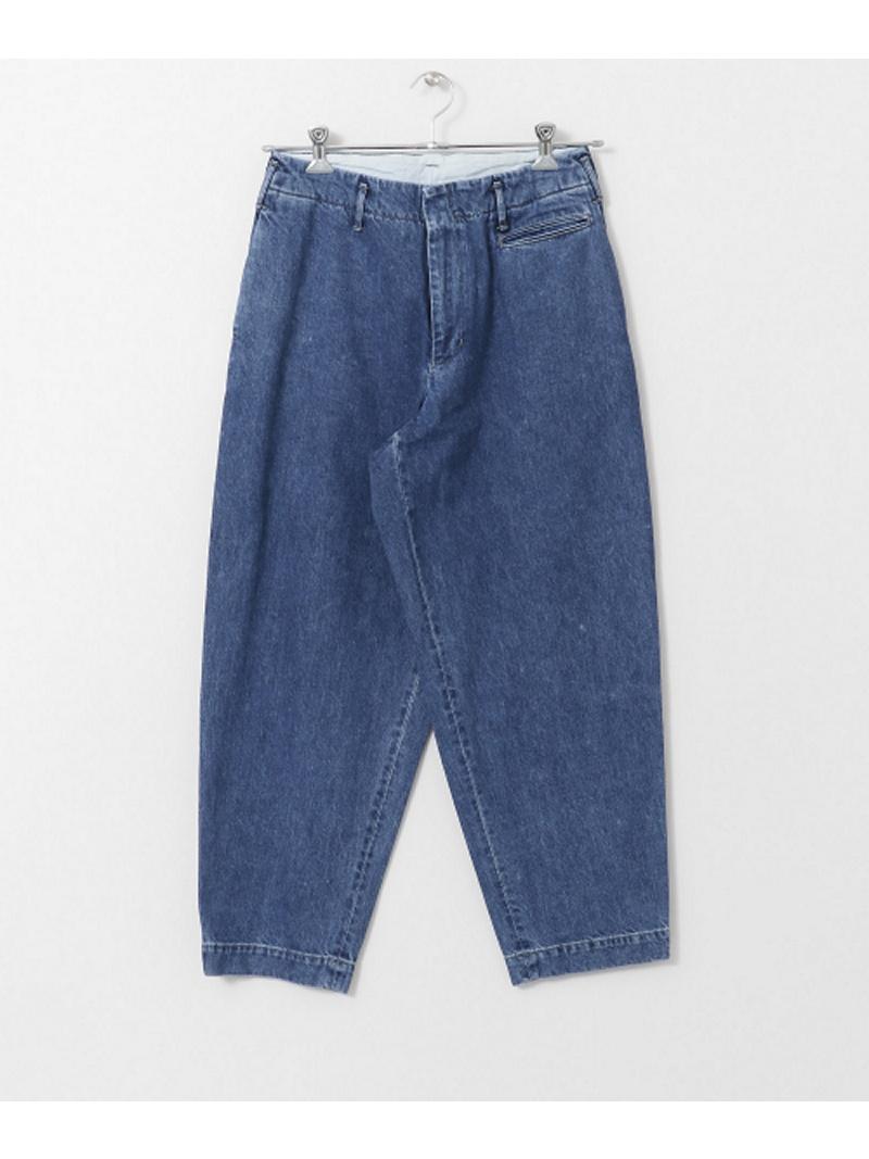 [Rakuten BRAND AVENUE]unfil×DOORS 別注wide tapered trousers DOORS アーバンリサーチドアーズ パンツ/ジーンズ【送料無料】