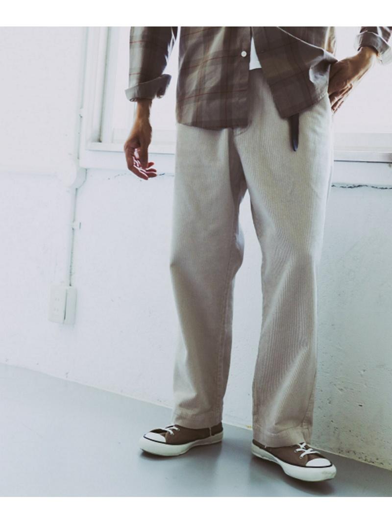 [Rakuten BRAND AVENUE]コーデュロイワンタックトラウザー DOORS アーバンリサーチドアーズ パンツ/ジーンズ【送料無料】