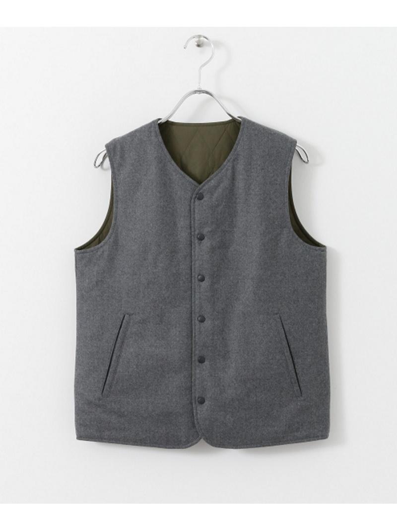 [Rakuten BRAND AVENUE]UNIFY reversible vest DOORS アーバンリサーチドアーズ コート/ジャケット【送料無料】