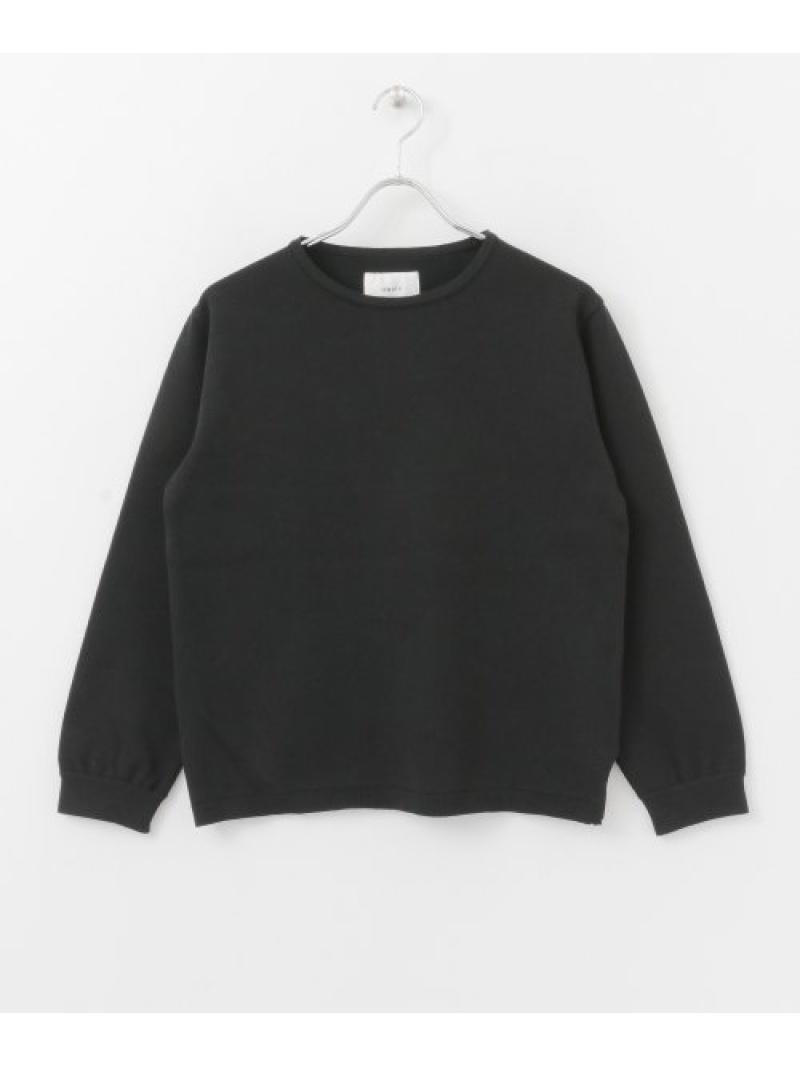 [Rakuten Fashion]【SALE/40%OFF】UNIFY Crew Neck Pullover DOORS アーバンリサーチドアーズ ニット ニットその他 ブラック ホワイト【RBA_E】【送料無料】