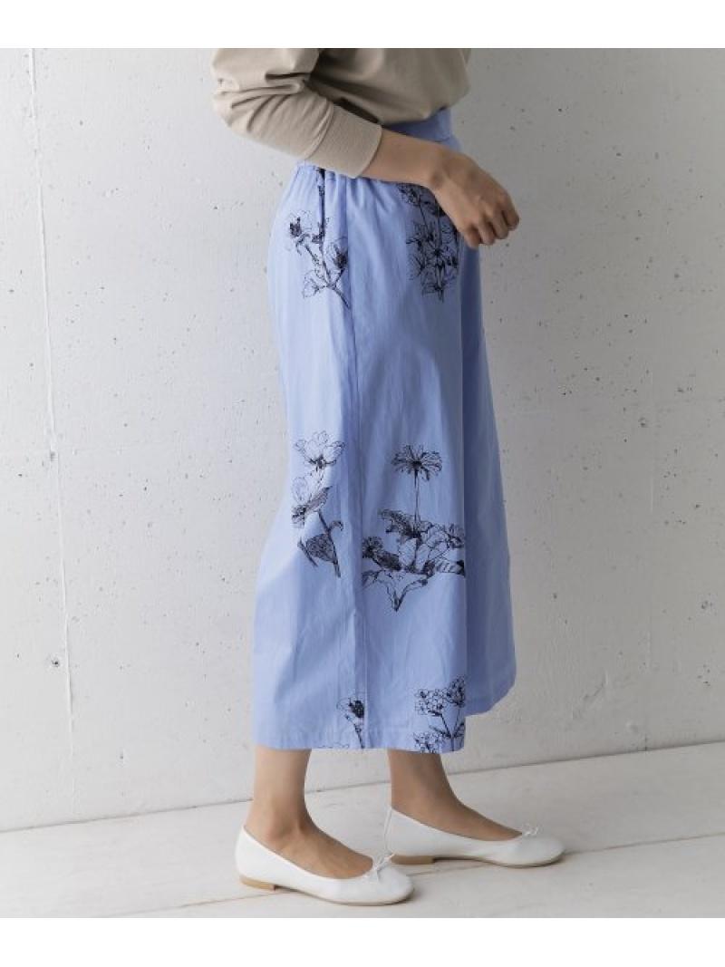 [Rakuten Fashion]【SALE/30%OFF】mizuiroindflowerprintculottepants DOORS アーバンリサーチドアーズ パンツ/ジーンズ パンツその他 ブルー ベージュ【RBA_E】【送料無料】