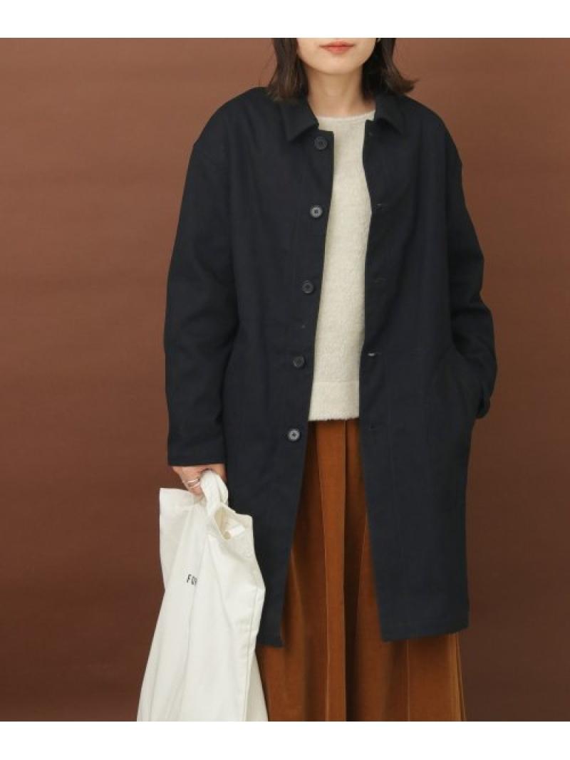 [Rakuten Fashion]FORK&SPOONキャバリーツイルワークコート DOORS アーバンリサーチドアーズ コート/ジャケット コート/ジャケットその他 ネイビー ベージュ【送料無料】
