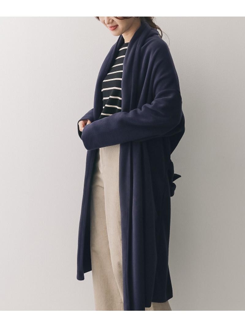[Rakuten BRAND AVENUE]【SALE/40%OFF】mizuiro-ind long drape cardigan with belt アーバンリサーチドアーズ コート/ジャケット【RBA_S】【RBA_E】【送料無料】