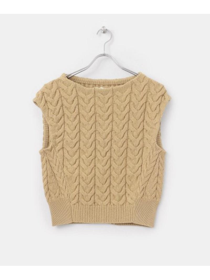 [Rakuten Fashion]【SALE/30%OFF】unfilcottonbouclecable-knit DOORS アーバンリサーチドアーズ コート/ジャケット ベスト【RBA_E】【送料無料】
