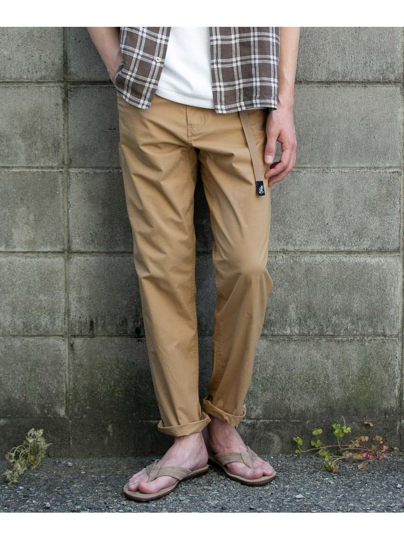 [Rakuten Fashion]Gramicci×DOORS別注ウェザーストレッチトラウザー DOORS アーバンリサーチドアーズ パンツ/ジーンズ パンツその他 ベージュ ホワイト ネイビー【送料無料】