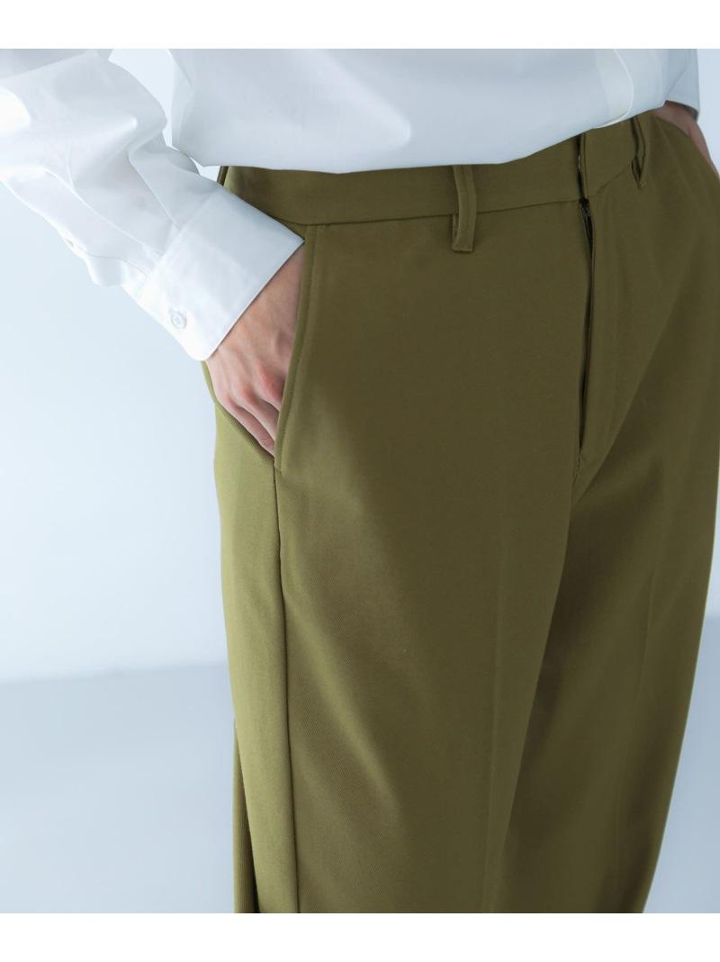 [Rakuten Fashion]カルゼクロスワイドトラウザー DOORS アーバンリサーチドアーズ パンツ/ジーンズ パンツその他 ベージュ ブラック【送料無料】