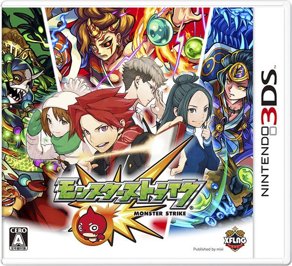 【新品】 モンスターストライク 3DS CTR-P-BFLJ / 新品 ゲーム