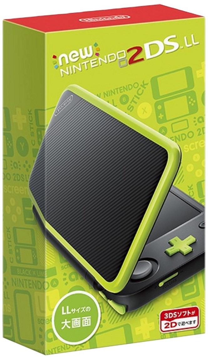 Newニンテンドー2DS LL ブラック×ライム 【新品】 3DS 本体 / 新品 ゲーム