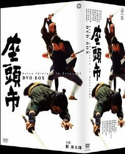 【新品】【DVD】座頭市 DVD-BOX 勝新太郎