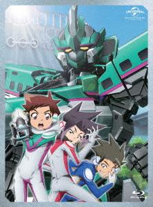 【ブルーレイ】新幹線変形ロボ シンカリオン Blu-ray BOX1 あおのゆか(キャラクターデザイン)
