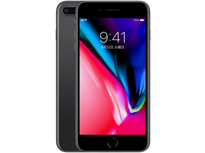 【中古】【白ロム】【SoftBank】iPhone8 Plus 256GBスペースグレイ MQ9N2 Ver11.1【Aランク】【△判定】【送料無料】