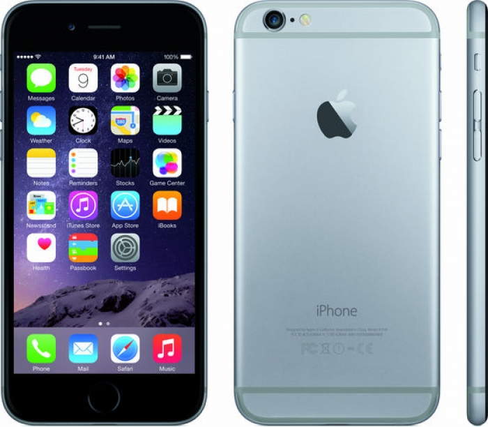 【中古】【白ロム】【SoftBank】iPhone6 16GB スペースグレイ NG472 Ver11.2.5【ABランク】【〇判定】【送料無料】