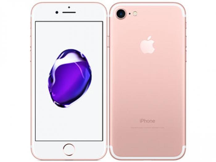 【中古】【白ロム】【au】iPhone7 128GBローズゴールド MNCN2 Ver11.2.6【Bランク】【△判定】【送料無料】