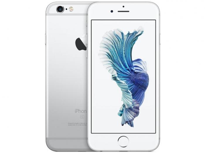 【中古】【白ロム】【au】iPhone6S 16GB SIMロック解除済 SIMフリー シルバー MKQK2 Ver11.2.5【Bランク】【〇判定】【送料無料】