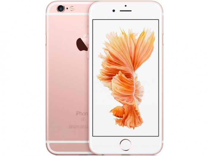 【中古】【白ロム】【au】iPhone6S 16GB SIMロック解除済 SIMフリー ローズゴールド Ver11.2.6【Bランク】【〇判定】【送料無料】