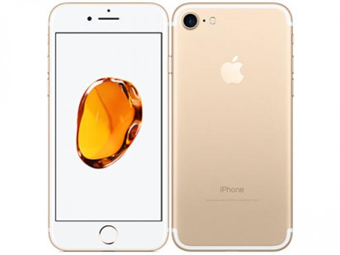 【中古】【白ロム】【au】iPhone7 32GBゴールド MNCG2 Ver12.1【Bランク】【〇判定】【送料無料】