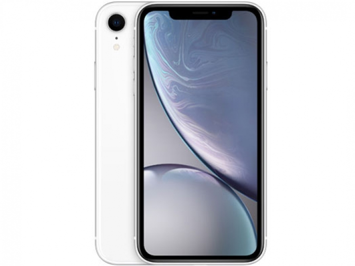 【中古】【白ロム】【au】iPhone XR 64GBホワイト MT032 Ver12.3.1【Aランク】【△判定】【送料無料】