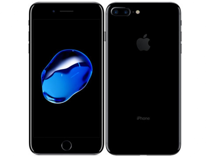 【中古】【白ロム】【SoftBank】iPhone7 Plus 128GBJet Black【Bランク】【△判定】