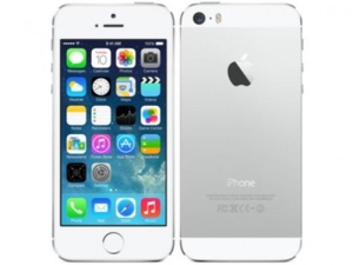 【中古】【白ロム】【au】iPhone5S 32GB[シルバー][状態:未使用品]【○判定】