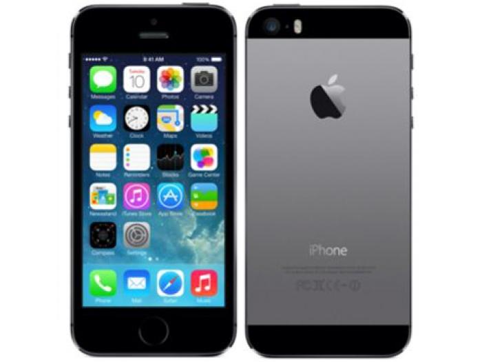 【中古】【au】APPLE≪iPhone 5S 16GB スペースグレイ【○判定】【送料無料】【白ロム】≫[スペースグレイ][状態:未使用品][1ヶ月保証]【○判定】