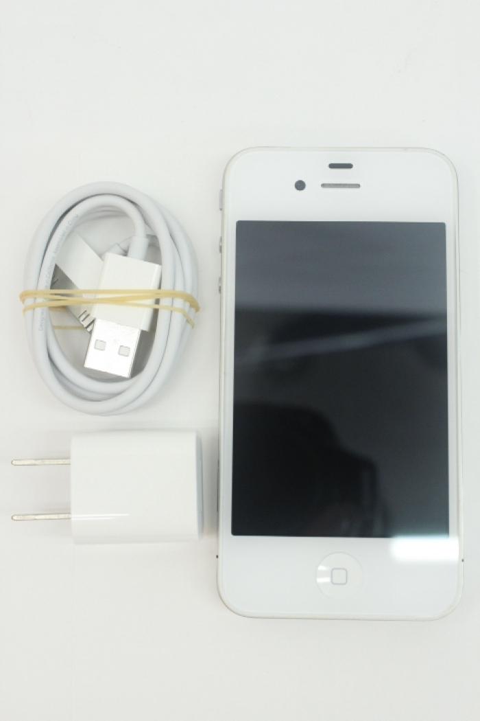 【中古】【白ロム】【SoftBank】iPhone4 32GB[ホワイト]【○判定】