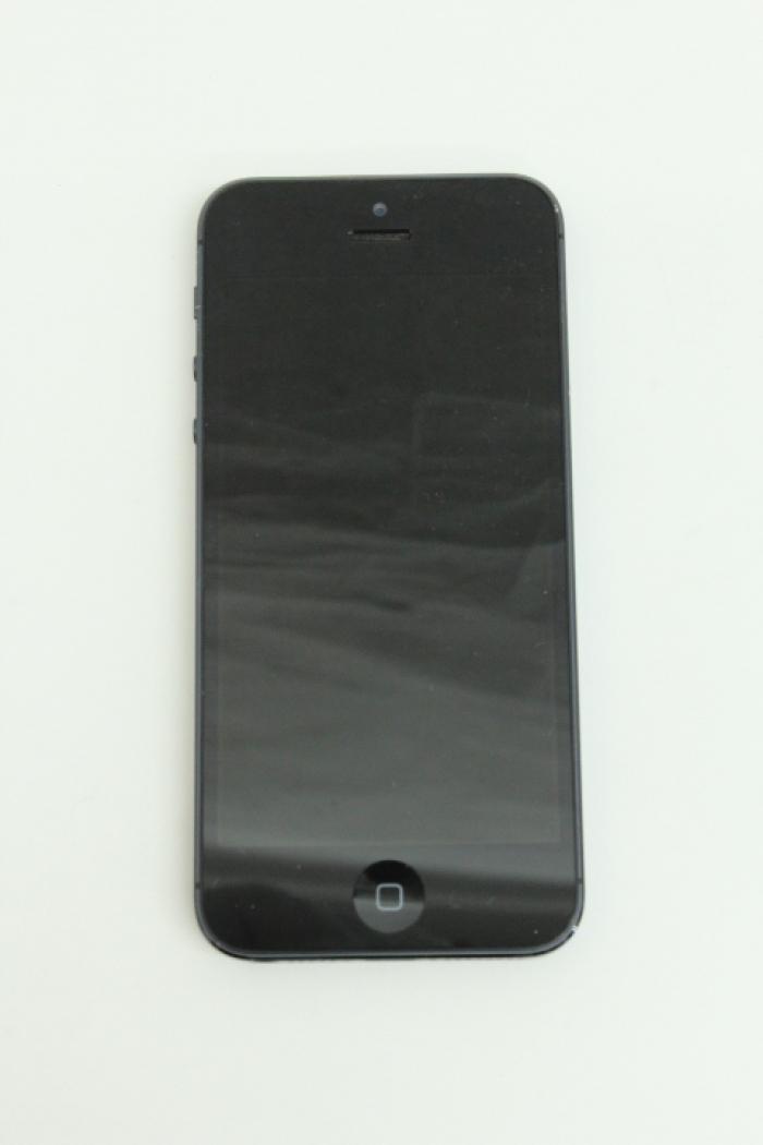 【中古】【白ロム】【SoftBank】iPhone5 16GB[ブラック&ストレート]【○判定】