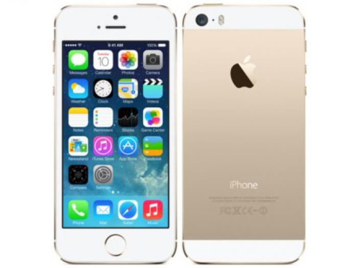 【中古】【白ロム】【au】iPhone5S 16GB[ゴールド]【△判定】
