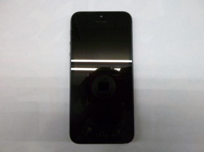 【中古】【白ロム】【au】iPhone5 64GB[ブラック&ストレート]【○判定】