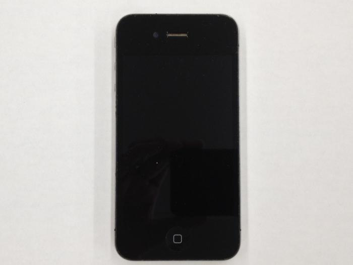 【中古】【白ロム】【SoftBank】iPhone4 16GB[ブラック]