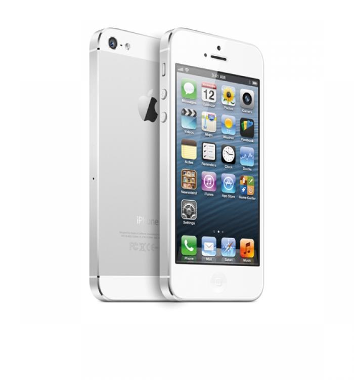 【中古】【白ロム】【SoftBank】iPhone5 16GB[ホワイト][未使用]【○判定】