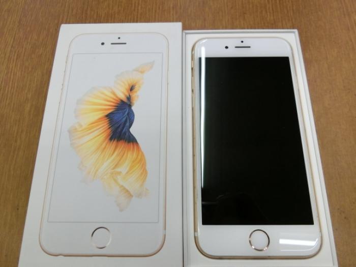 【中古】【白ロム】【SoftBank】iPhone6S 64GB ゴールド【Cランク】【〇判定】