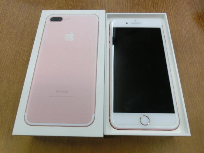 【中古】【白ロム】【au】iPhone7 Plus 32GBRose Gold【Aランク】【〇判定】