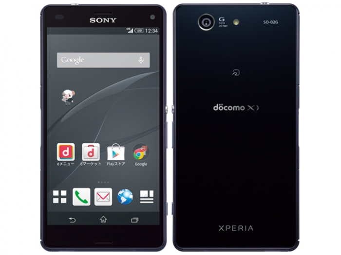 【中古】【白ロム】【docomo】Xperia Z3 Compact SO-02G【ジャンク品】【〇判定】【送料無料】