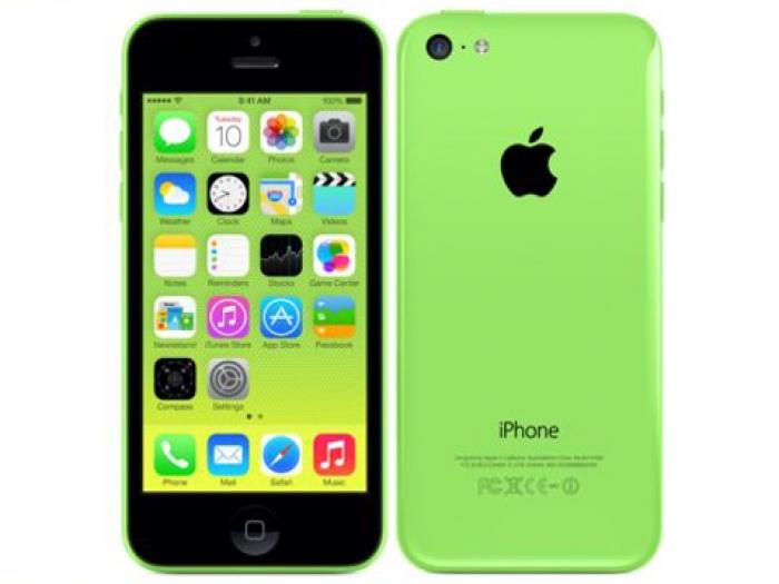 【中古】【未使用】SoftBank iPhone 5C 16GB グリーン【〇判定】
