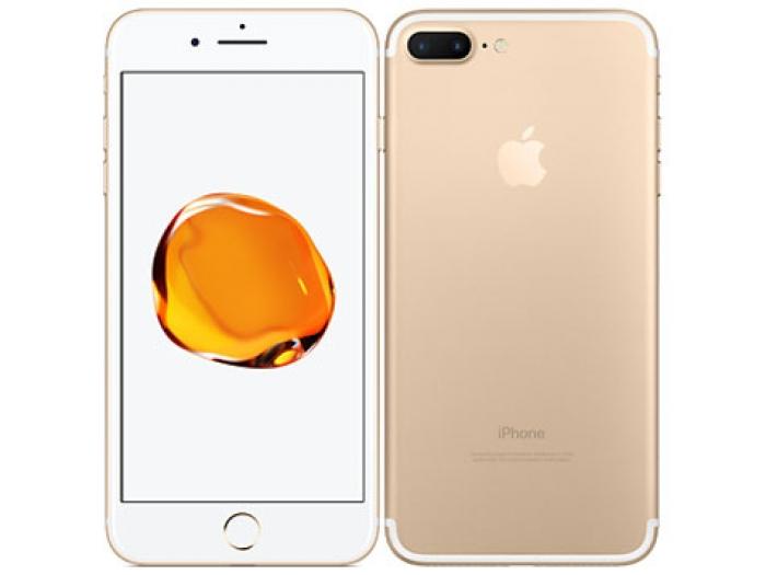 【中古】【白ロム】【au】iPhone7 Plus 256GB ゴールド【Bランク】【〇判定】【送料無料】
