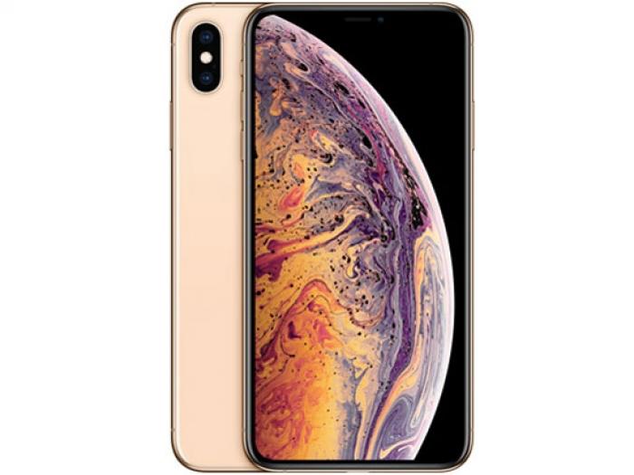 【中古】【白ロム】【au】iPhone XS Max 64GB ゴールド【Aランク】【△判定】【送料無料】