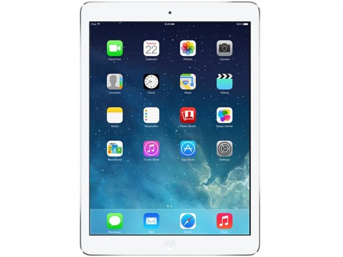 【中古】【白ロム】【SoftBank】iPad Air Wi-Fi 64GB シルバー【ABランク】【〇判定】【送料無料】