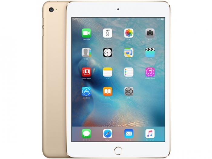 【中古】【白ロム】【docomo】iPad mini4 Wi-Fi+Cellular 32GB ゴールド【ABランク】【△判定】【送料無料】
