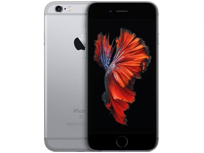 【中古】【白ロム】【au】iPhone6S 64GB スペースグレイ【Bランク】【〇判定】【送料無料】