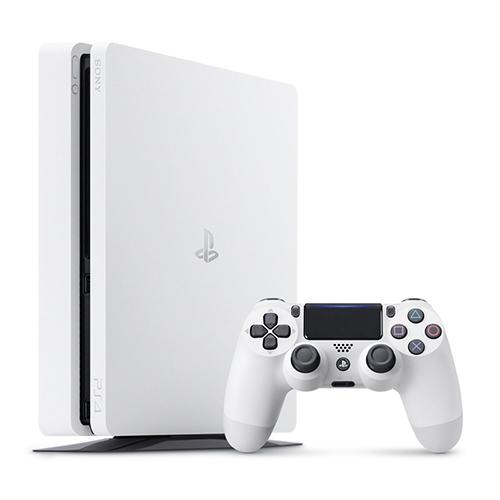 【中古】 PS4 本体 グレイシャー・ホワイト 500GB CUH-2000AB02 / 中古 ゲーム