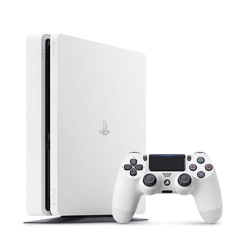 【中古】 PlayStation4 グレイシャー・ホワイト 500GB [CUH-2100AB02] PS4 本体 CUH-2100AB02 / 中古 ゲーム