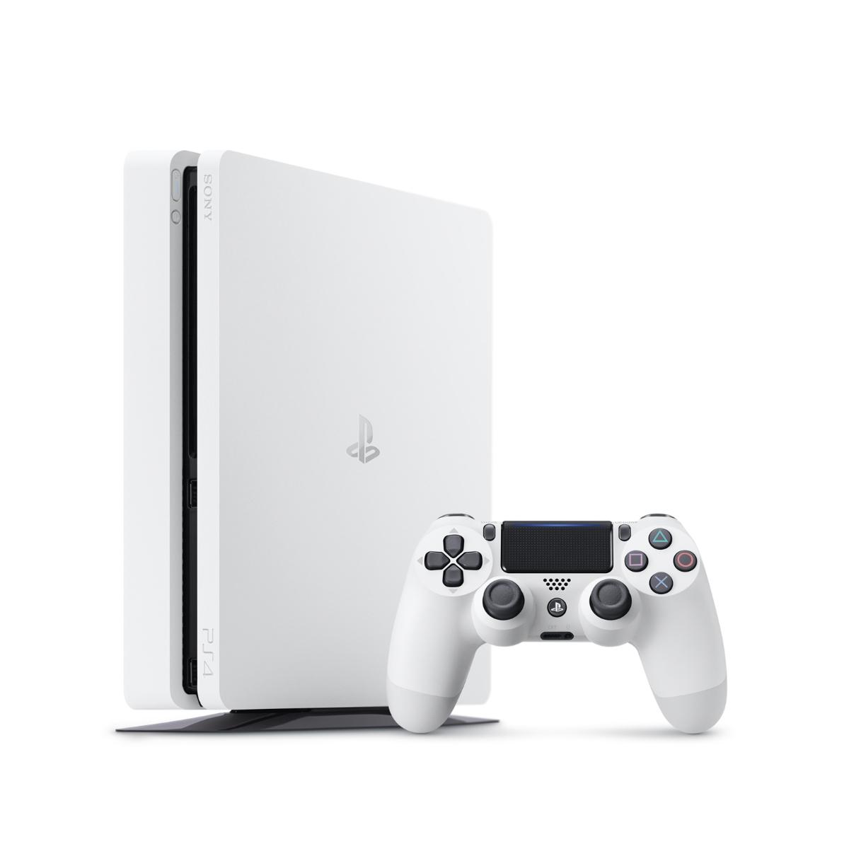 【中古】 PlayStation4 グレイシャー・ホワイト 500GB [CUH-2200AB02] PS4 本体 CUH-2200AB02 / 中古 ゲーム