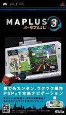 【新品】 MAPLUS ポータブルナビ3 PSP ULJS-00199 / 新品 ゲーム