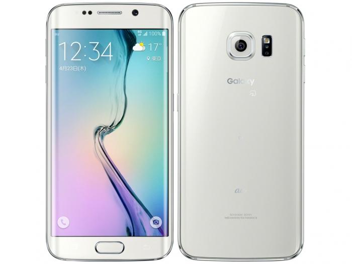 【中古】【白ロム】【au】Galaxy S6 edge SCV31 32GB【〇判定】