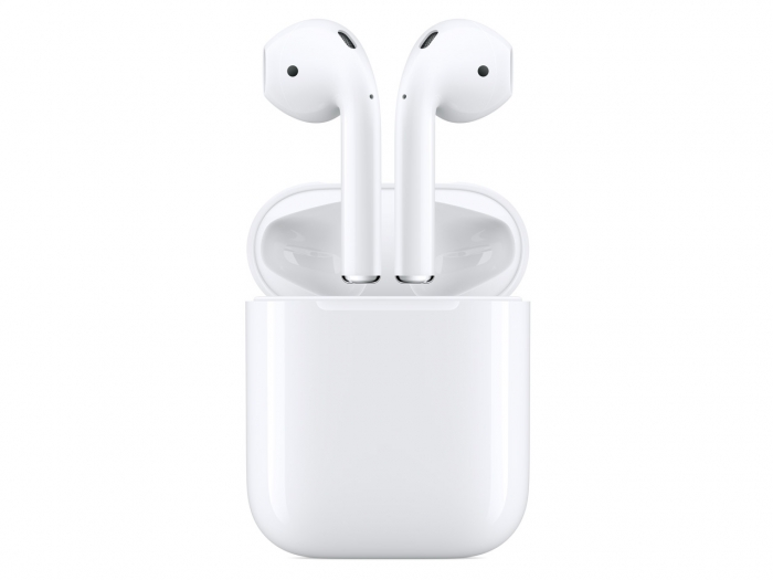 【中古】APPLE AirPods MMEF2J/A Bluetooth ワイヤレスイヤホン【未使用 未開封】