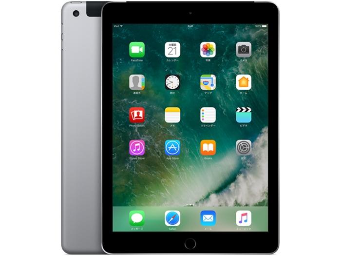 【中古】【白ロム】【SoftBank】iPad 第5世代 Wi-Fi+Cellular 32GB【△判定】